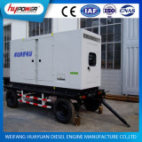 400kVA Industrial Trailer / Portable / Moveable Generator com Ce ISO Certification