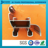 Perfil personalizado do alumínio 6063 para a porta do indicador com o revestimento de bronze anodizado do pó
