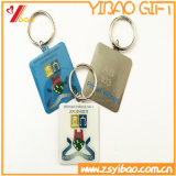 Custom Fishion Plitting Logo Key Holder, presente de jóias com chaveiro (YB-HD-23)