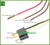 点Emarkはジープのアクセサリのための7inchによってクロム染料で染められたヘッドライトを承認した