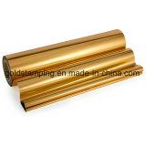 Lámina para gofrar caliente del oro de Rose para el uso de la industria