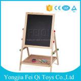 para a placa preta das crianças pequenas educacionais da criança para o brinquedo de madeira do presente de Natal