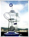 Reciclador Chuveiro Percolater Tubo de vidro de água