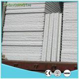 Painel de sanduíche do aço PU/Rock Wool/EPS da cor do telhado e da parede