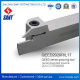 Zhuzhou Sant калибруя держатель Qeed2020r17 резца для проточки канавок Toolholder поверхностный сопрягало вставки Zted02503