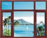 Aluminiumschiebendes Glasfenster des hölzernen Korn-Ylj-728