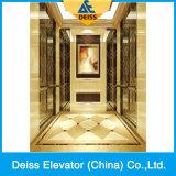 Elevatore residenziale economizzatore d'energia dell'interno Ti-Placcato della casa del passeggero della villa