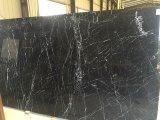 Lastra di marmo nera di Nero Marquina