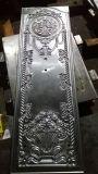 外部の安い押されたパネルの金属の鋼鉄ドアの皮
