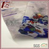 Tela transparente de seda de Organza da cópia 100% da flor