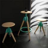 特別なデザイン円形のヨーロッパのブナの森のレストランの鉄棒の腰掛け(SP-UBC328)
