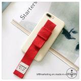 Hand Rope Phone Case com faixa de pulso celular caso de telefone celular para iPhone