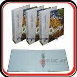Tamanho A4 4c Impressão Pastas de papel de pasta de papel rígido Folder