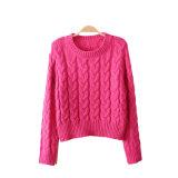 Escudo Cardigan Pullover Ejecuciones personalizada suéter de punto