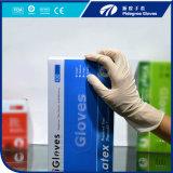 Порошок 100% перчаток латекса Dispsoable природного каучука или порошок освобождают