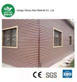 revêtement composé en plastique de mur en bois de 220*24mm