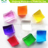Nouveau design Square Crystal Soil Flowers Colorful Water Beads
