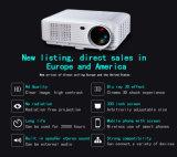 村のホームシアターのための完全なHD 800pサポート1080P携帯用デジタルLED HD Projektor/Proyector/Projector/Wall画像プロジェクター