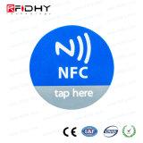 La Mejor Aduana del Precio Imprimió la Mini NFC Escritura de la Etiqueta/la Etiqueta Engomada de Ntag213