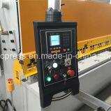6mm 6000mm hydraulische scherende Maschine mit E21s Controller