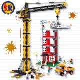 子供のためのタワークレーンのブロックのおもちゃ