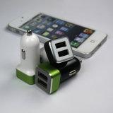 Цветастый заряжатель автомобиля с двойным портом USB для iPhone/Samung