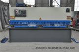 QC12k Serie hydraulischer vorderer führender CNC-Schwingen-Ausschnitt/scherende Maschine