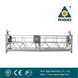 Façade en aluminium Zlp500 suspendu plate-forme de travail de nettoyage