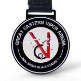 Medalla promocional del metal de la aleación del cinc con color negro