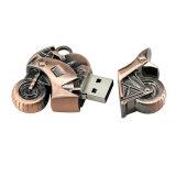 Azionamento di rame 32GB del pollice del bastone di memoria Flash del USB del motociclo