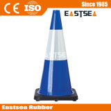 オレンジ、黄色、緑色PVCトラフィックの交通安全の円錐形