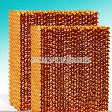 Garniture de refroidissement de nid d'abeilles évaporatif favorable à l'environnement de l'eau