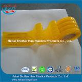 RoHSの品質の適用範囲が広く半透明で黄色いプラスチックPVCドアのストリップのカーテンロールスロイス