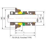 를 위해 Grundfos 펌프 물개 (기계로 가공된 기계적 밀봉 TS 크롬)