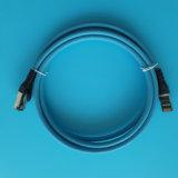 Fluke著CAT6A (10G) SSTP 26AWGのイーサネットパッチ・コード100%のコンポーネントテスト