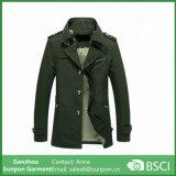 2016 Brand Spring Army Green Men's Windbreaker Coat / Jacket