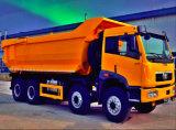 Uso excelente usado da condição das rodas 380HP 40tons do caminhão de descarga 12 do baixo preço FAW para África