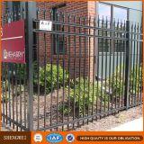 Panneau de clôture métallique ornemental économique en fer forgé