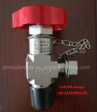 Cga330 válvula de acero inoxidable para la Especialidad de suministro de gas y sistema de alimentación.