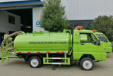 Forlandエクスポートのための小さい3 CBM右駆動機構の下水の吸引のトラック