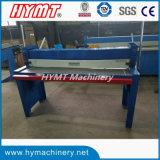 Q01-1.5X1500 manueller Typ scherende Ausschnittmaschine der Guillotine
