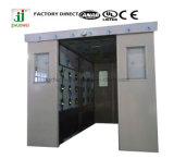 Acquazzone di aria di salto automatico con il portello Automatico-Scorrevole per stanza pulita, acquazzone di rilevamento automatico aria dei carichi/della persona