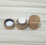 Tutto il vaso crema cosmetico di bambù con la bottiglia interna di Cap/PP (PPC-BS-011)