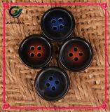 Bouton de couleur de gradient avec le bouton de chemise 4holes rond