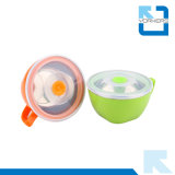 Популярные корейские шары нержавеющей стали и пластмассы типа и чашка немедленной лапши