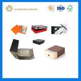 충분히 고품질 검정 자석 마감 엄밀한 마분지 Foldable 상자 포장 (포장되는 평지)