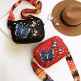 여자를 위한 자수 나비 Crossbody 2017의 새로운 유행 핸드백