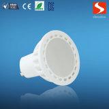 CE RoHS GU10 4W LED luz del punto