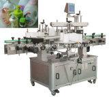 각종 편평한 정연한 병 단지를 위한 편평한 병 두 배 측 레테르를 붙이는 기계