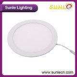 Sunle PF95% IP do Driver44 24W a lâmpada do painel de LED (SL-MB024)